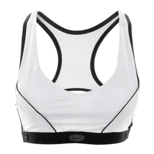 La Isla - Sujetador Deportivo Con Acolchado Extraíble Para Mujer Blanco