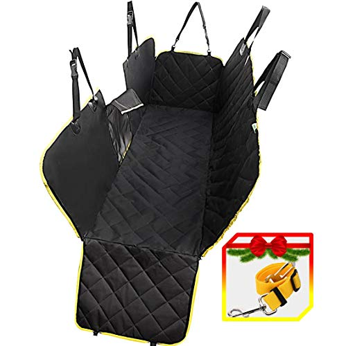 - UMMER Dog Car Seat Covers Back Seat Car Truck SUV Waterproof Hammock Mesh Window Side Flaps Durable Anti-Scratch Nonslip Washable Pet Car Seat Cover Car Rear Seat Cover Protector Mat Ultrasonic Quilt