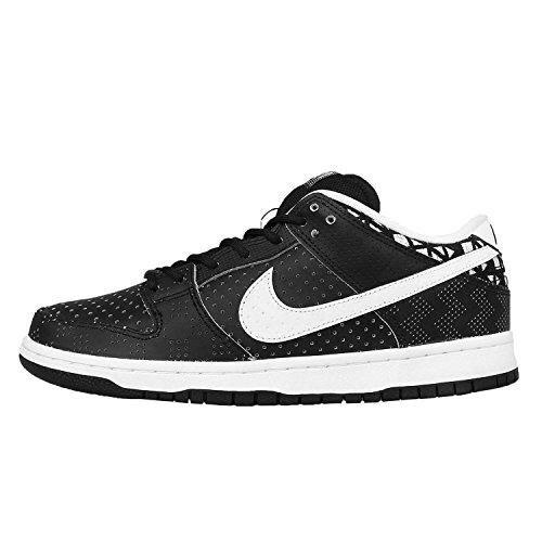 Nike Men's Dunk Low PREM BHM SB QS, BLACK/WHITE-BALCK, 6 M US