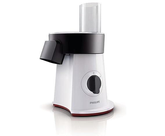 Philips Accesorio para ensaladas HR1387/80 HR1387/80-Picadora, De plástico, Negro y Blanco: Amazon.es: Hogar