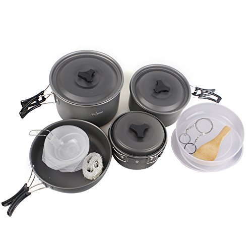 Camping Portable Anodized Aluminum Cookware