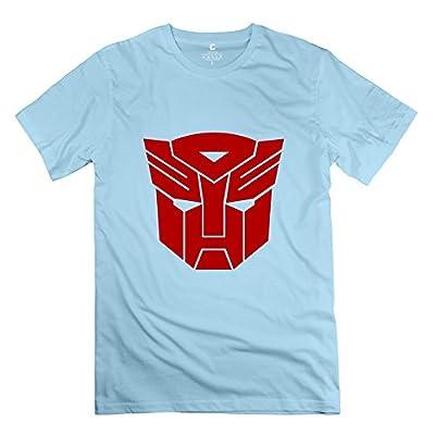 ZHUYOUDAO Men's Transformers Autobot Short-Sleeve T-Shirt