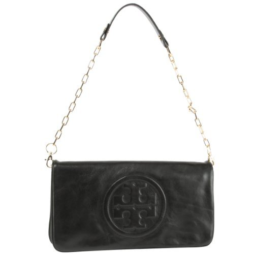 Tory Burch Bombe Reva Clutch Bag- - Reva Burch