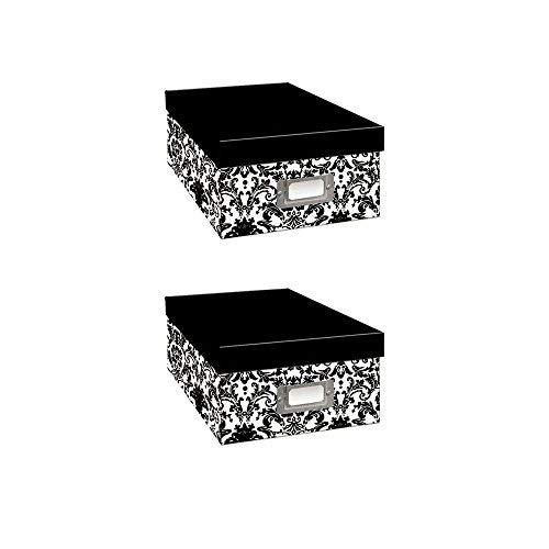 Pioneer Black & White Photo Storage Assorted Designs (Two Pack) by pioneer photo Albaums