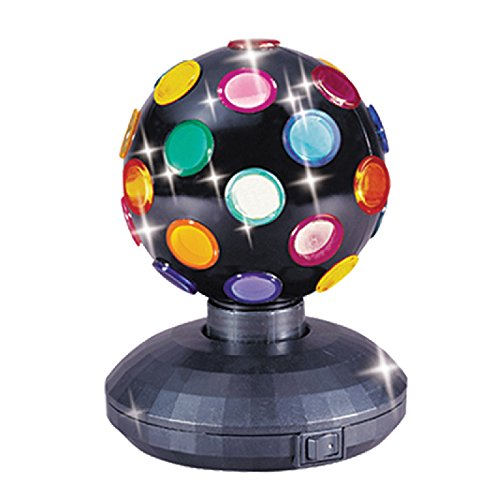 Rotating Disco Ball (Trisonic Party Time Multi Color 360 Degree Rotating Mirror Disco Light)