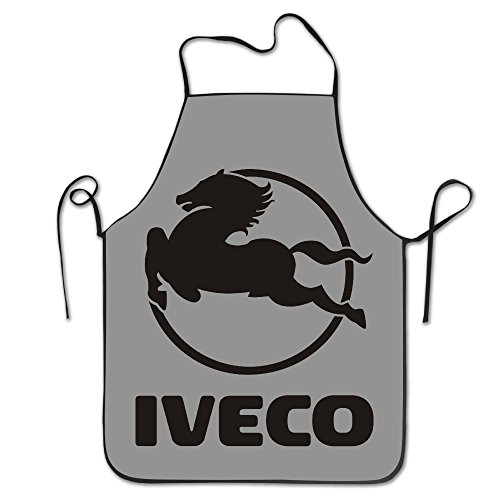 iveco-truck-logo-kitchen-aprons-for-women-men