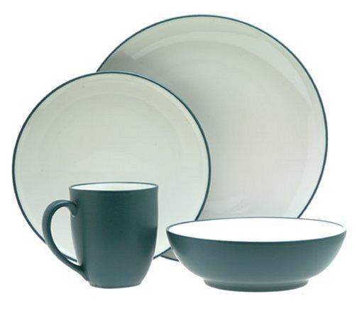 Noritake Colorwave Blue 16-Piece Dinnerware Set, Service for 4