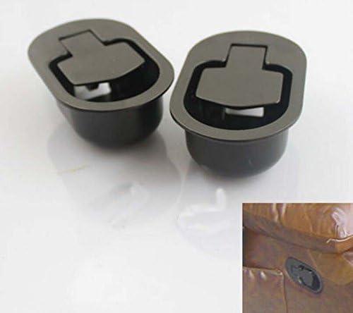 Lot de leviers d/'inclinaison de remplacement avec poign/ée en m/étal pour fauteuil canap/é