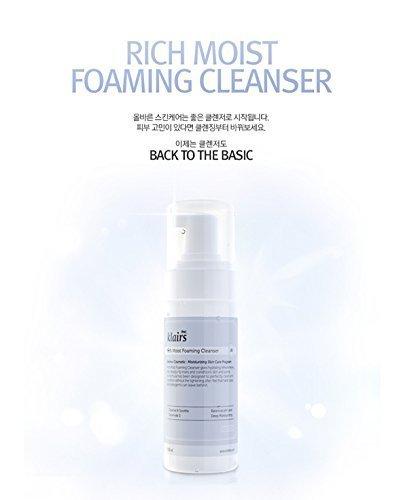 KLAIRS Rich Moist Foaming Cleansing, Korean Cosmetics, Korean Beauty, Kpop Beauty, Kstyle by KLAIRS