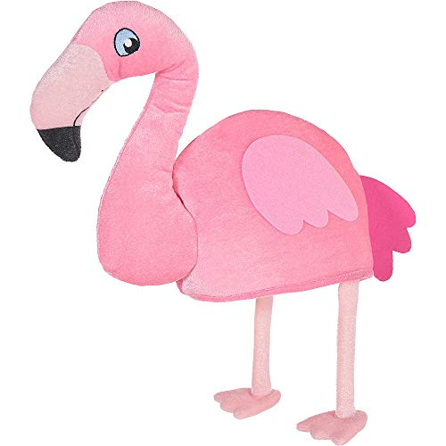 Amazon.com  Amscan 398490 Party Supplies Flamingo Hat One Size Multicolor   Toys   Games 3b6232ba27c3