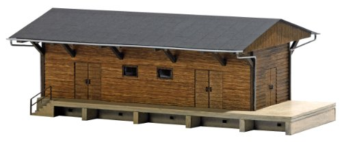 Busch 1421 Freight Shed HO Structure Scale Model