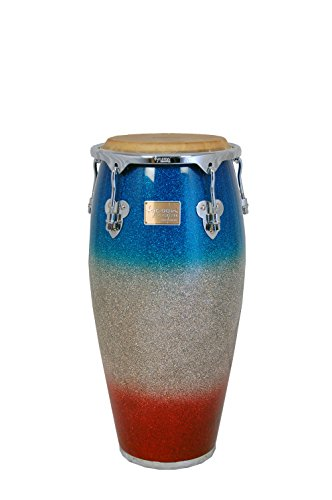Tycoon Percussion 11 Inch Master  InchPlatinum Tri-Fade Inch Series Quinto With Single Stand by Tycoon Percussion