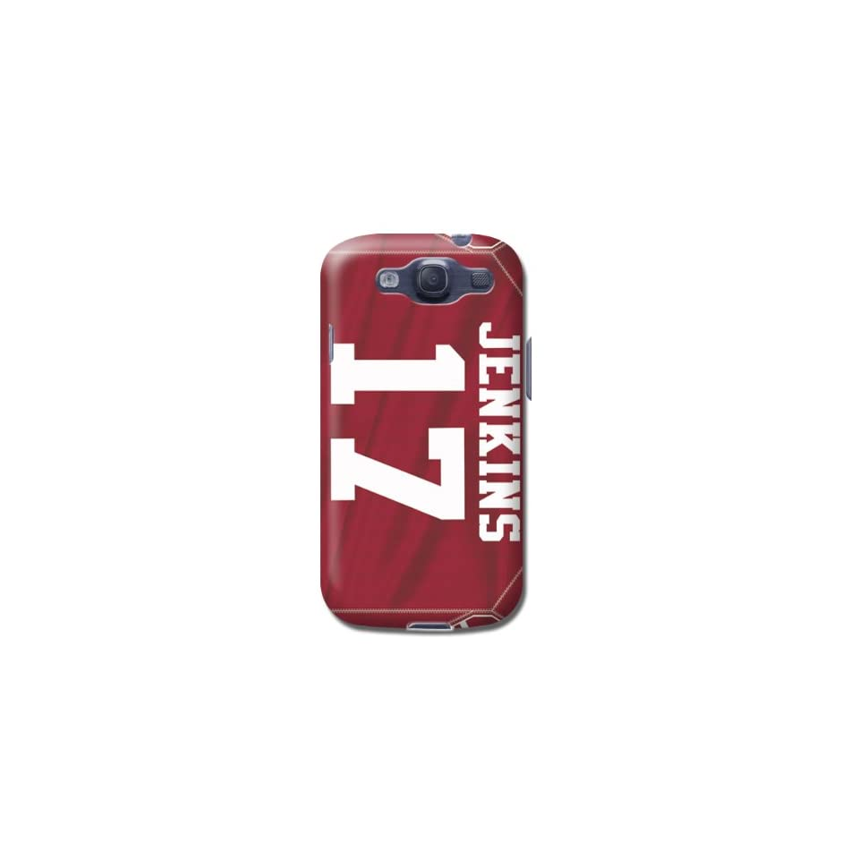 Fashion Nfl San Francisco 49ers Team Logo Samsung Galaxy S3 Case Jenkins By Lfy  Sports Fan Cell Phone Accessories  Sports & Outdoors