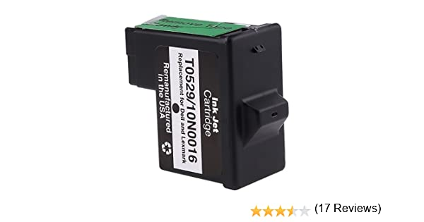 Amazon.com: For Dell T0529 NEW BLACK PRINTER INK CARTRIDGE 720/920: Electronics