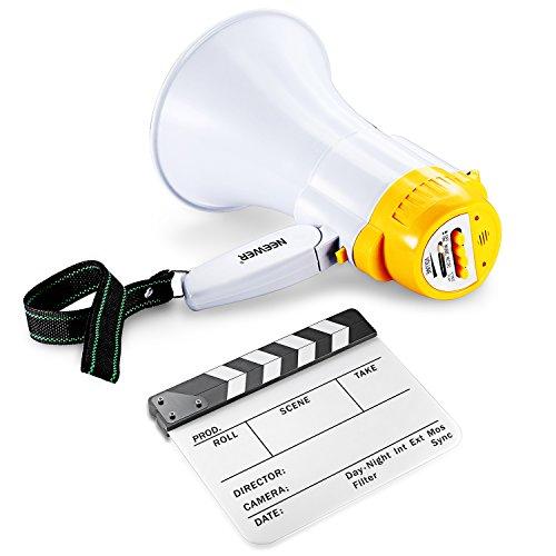 Neewer Film Clapboard Megaphone Kit
