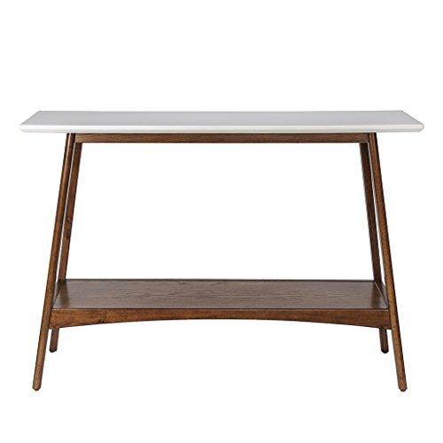 Parker Console White/Pecan See Below