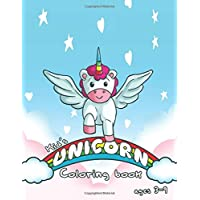 Unicorn Coloring Book: For Kids Ages 3-9 (Kids Activity Book and Pages)