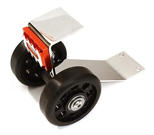 Integy RC Model Hop-ups C27190RED Metal Machined Wheelie Bar Kit for Traxxas X-Maxx 4X4