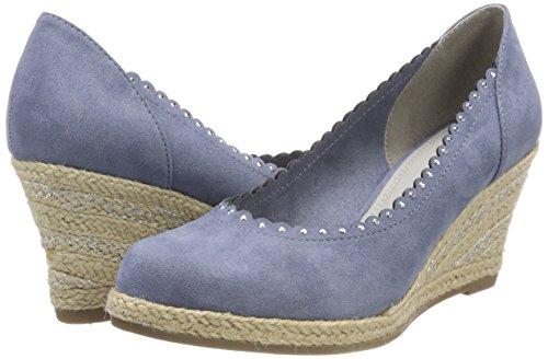 Para Tacón Zapatos De Tozzi Mujer Marco 22414 Azul azure xwqCZP4y