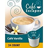 k cups coffee milk - Cafe Escapes Cafe Vanilla, K-Cups, 96 Count