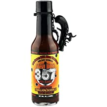 Mad Dog 357 Limited Edition Hot Sauce with Pirate Pistol Keychain 5oz