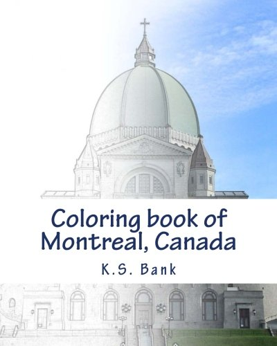 Coloring Book Of Montreal  Canada