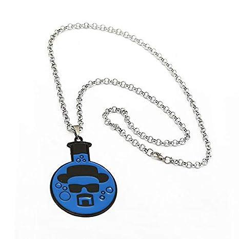 Amazon.com: Llavero con el logotipo de Heisenberg Skull con ...