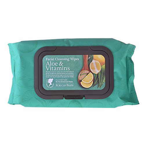 Price comparison product image Morgan Miller Facial Cleansing Wipes Aloe &Vitamins (60ct)