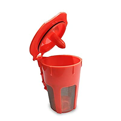 Leocell Reusable K-Cups Filter?Reusable Coffee Filter Compatible With Keurig 2.0 - For K200, K300, K400, K500 Series of Machines