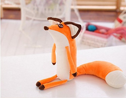 1pcs Newest 60cm Real The Little Prince Fox Plush Dolls Little Prince And The Fox Stuffed Animals Plush Education Toys For Baby
