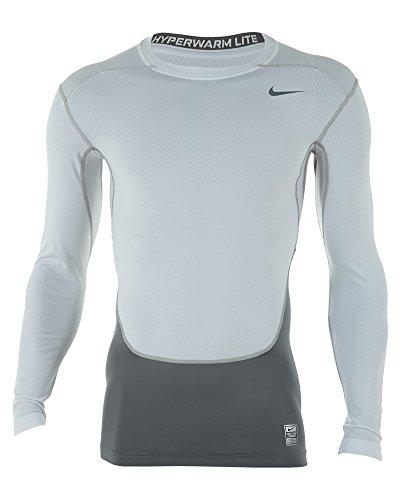 b00ef198 Nike Pro Combat Hyperwarm Lite Compression Crew Long Sleeve Shirt Mens  Style: 588890-100 Size: M - Buy Online in UAE. | Misc.