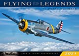 Flying Legends 2021: 16 Month Calendar September 2020 Through December 2021