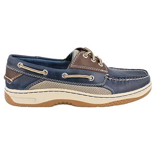 - Sperry Men's Billfish 3-Eye Boat Shoe, Navy/Brown, 11 M US