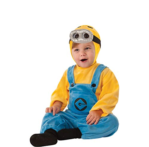 Rubie's Despicable Me 2 Minion Romper, Blue/Yellow, 6-12