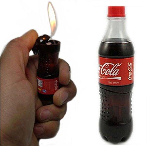 Novelty Cola Drink Bottle Lighter Smoking Gift Import It All
