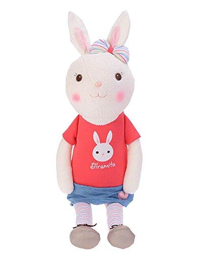 Alien Storehouse Decor Dolls Plush Rabbit Toy Animal Doll for Kids 60cm Height, Red by Alien Storehouse