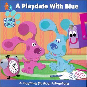blue s clues playdate with blue amazon com music