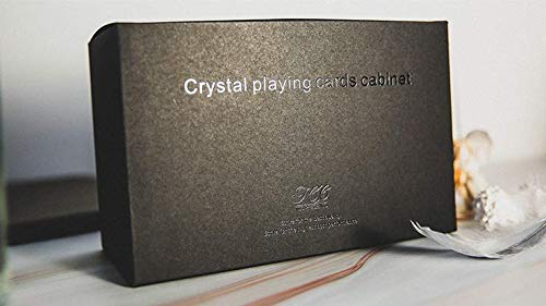 MJM Crystal Playing Cards Cabinet by TCC - Trick
