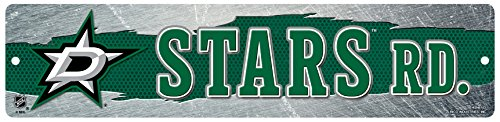 Rico HSN8103 Plastic Street Sign , Dallas Stars