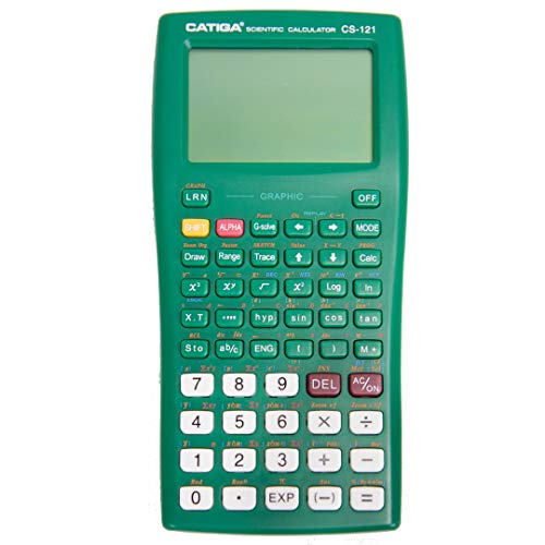 Graphing Calculator - CATIGA CS121 - Scientific and Engineering Calculator - Programmable System (Dark Green)