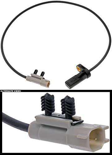 APDTY 116950 ABS Anti-Lock Brake Wheel Speed Sensor Fits Rear Left or Rear Right 2005-2010 Jeep Grand Cherokee or 2006-2010 Jeep Commander (Replaces 56044146AB, 56044146AA, (Grand Cherokee Speed Sensor)