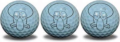 GBM Golf Squid Ball Character 3 Ball Pack