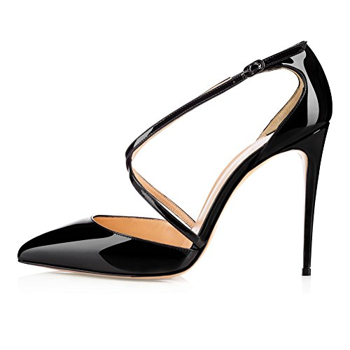 MERUMOTE - Zapatos de vestir para mujer negro
