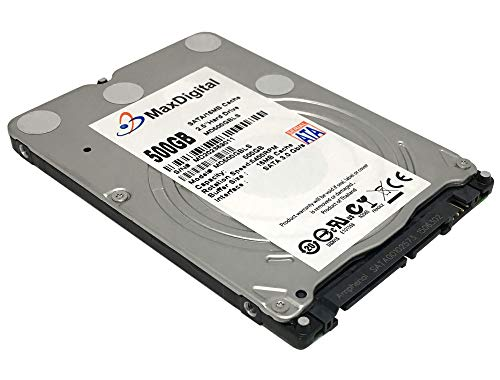 (MaxDigitalData 500GB 8MB Cache 5400RPM SATA 6.0Gb/s (7mm) 2.5