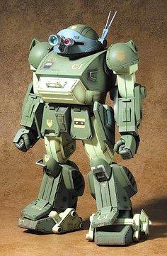 装甲騎兵ボトムズ 1/18スコープドッグ withミクロアクション キリコキュービー DMZ-01 B000BVD8XY