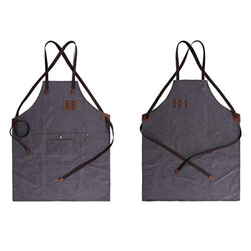 Cucina Grembiule Gray Con Lan Pittore Da Shuo w8qSPS