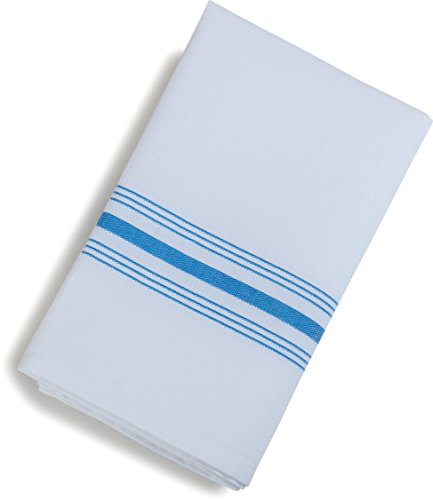 New Blue Cotton Napkins - Carlisle 53771822NH062 Restaurant Quality Cloth Dinner/Bistro Napkins, 18