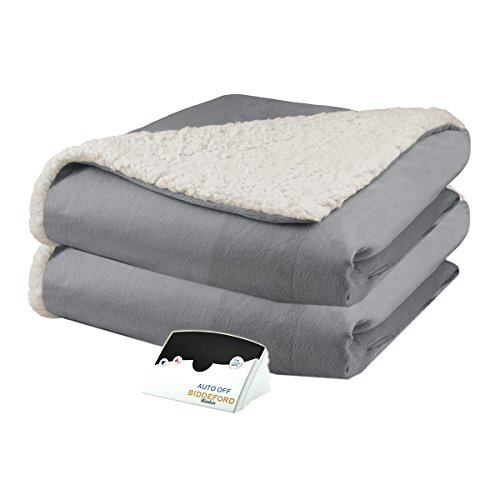 Biddeford 6001-9051136-902 Micro Mink and Sherpa Electric He