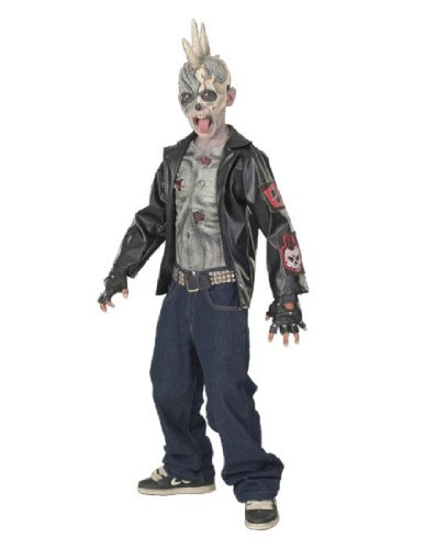 Punk Zombie Kids Costume (Childrens Zombie Costumes)
