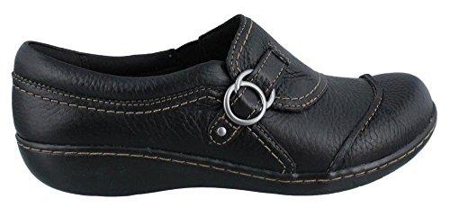 Clarks Ashland Indigo Women US 6.5 Black Loafer